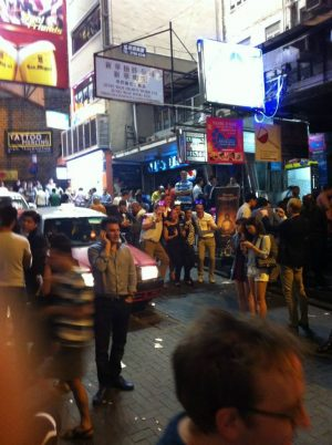 LKF Commotion, Hong Kong