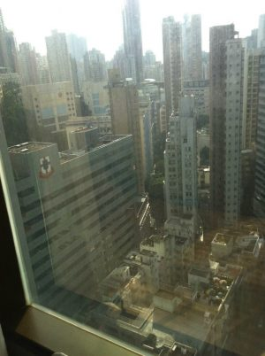 Hong Kong View From My Window