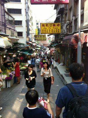 The Markets Near Hollywood Street, Hong Kong