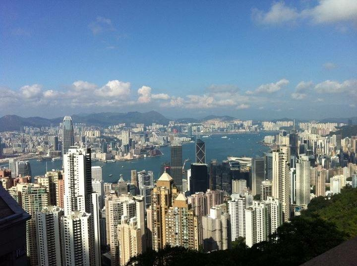 Panoramic Hong Kong View
