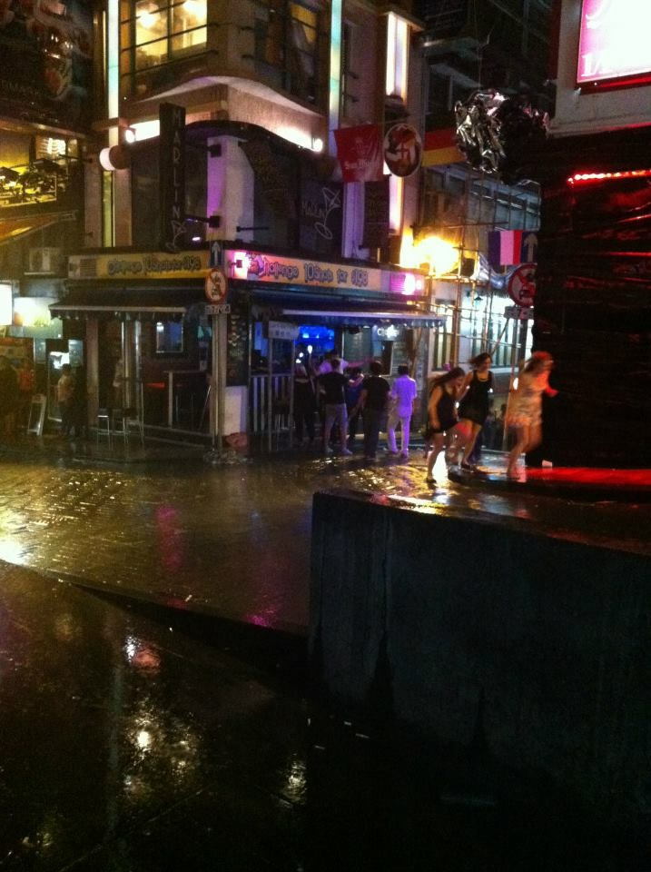Typhoon At LKF Hong Kong