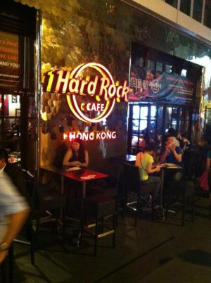 The Hard Rock Cafe, Hong Kong
